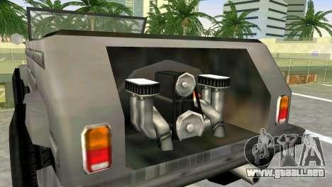 Volkswagen Kuebelwagen para GTA Vice City vista lateral izquierdo