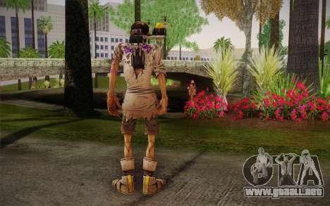 El profesor Nakayama, 2 из Borderlands para GTA San Andreas segunda pantalla