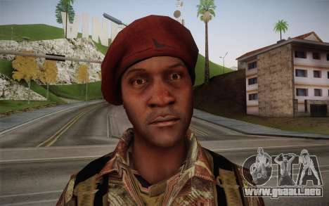 U.S. Soldier v2 para GTA San Andreas tercera pantalla
