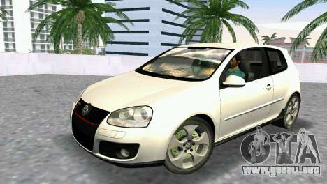 Volkswagen Golf V GTI para GTA Vice City