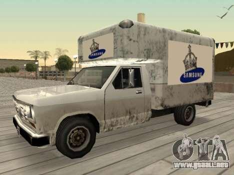 La nueva publicidad en los coches para GTA San Andreas décimo de pantalla