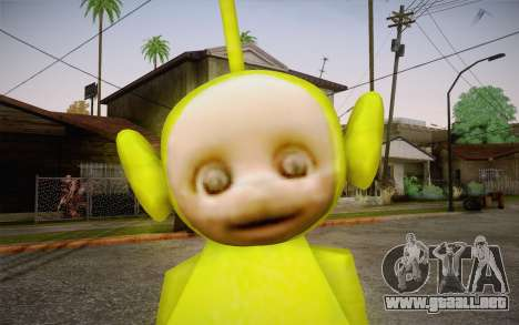 Despi (Teletubbies) para GTA San Andreas tercera pantalla