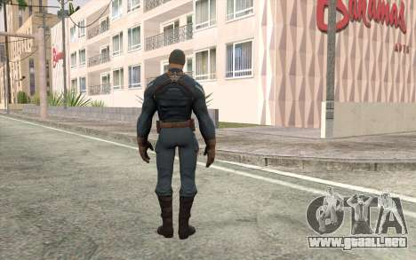 Captain America para GTA San Andreas segunda pantalla