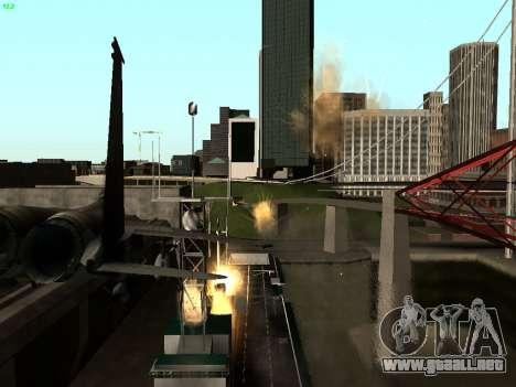 ENB Series por Makar_SmW86 [SAMP] para GTA San Andreas tercera pantalla