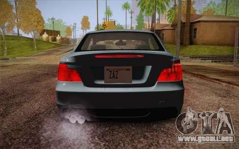 BMW 135i Limited Edition para vista inferior GTA San Andreas