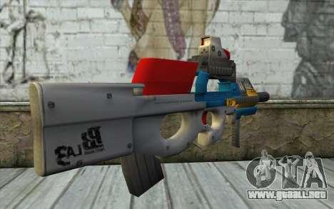 P90 MC Latin 3 from Point Blank para GTA San Andreas segunda pantalla