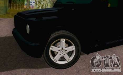 Mercedes-Benz G500 Limousine para la visión correcta GTA San Andreas
