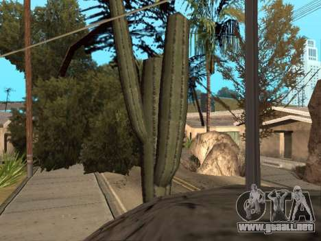 La selva en una calle Azteca para GTA San Andreas tercera pantalla