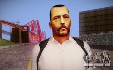 Leon the Professional para GTA San Andreas tercera pantalla