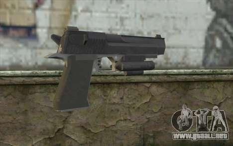 Desert Eagle from Modern Warfare 2 para GTA San Andreas segunda pantalla