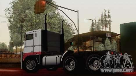 Hauler from GTA 5 para GTA San Andreas left
