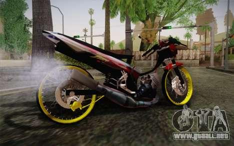 Yamaha Tiara S120 Speed MX drag para GTA San Andreas left