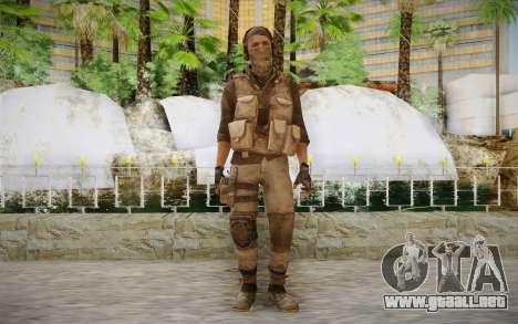 Mercenario en la armadura (COD MW3) para GTA San Andreas