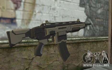 NS-15M Machine Gun from Planetside 2 para GTA San Andreas segunda pantalla