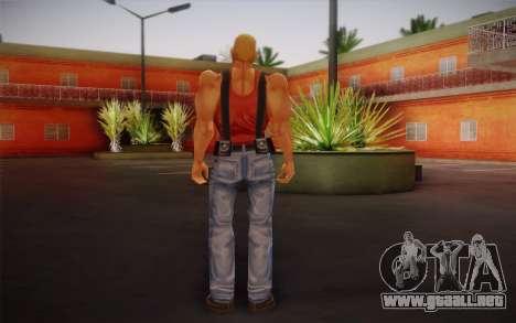 Duke Nukem para GTA San Andreas segunda pantalla