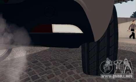 Afla Romeo Mito Quadrifoglio Verde para GTA San Andreas interior