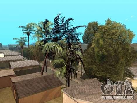 La selva en una calle Azteca para GTA San Andreas