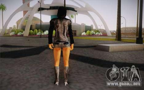 Jill Biker para GTA San Andreas segunda pantalla