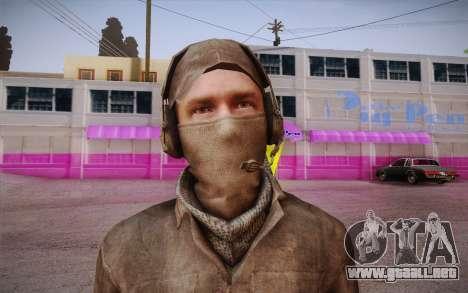 Mercenarios sin armadura (COD MW3) para GTA San Andreas tercera pantalla