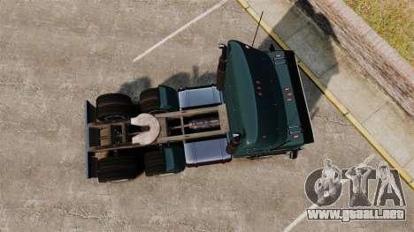 GTA V JoBuilt Hauler para GTA 4 visión correcta