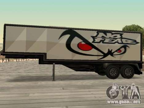 La nueva publicidad en los coches para GTA San Andreas tercera pantalla