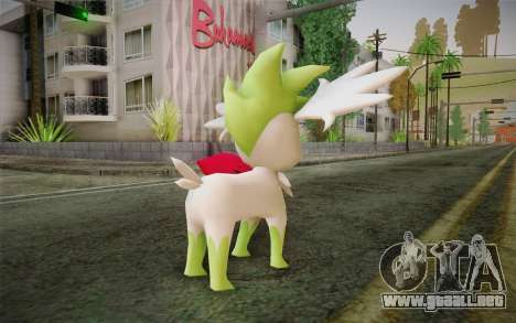 Shaymin Sky from Pokemon para GTA San Andreas segunda pantalla