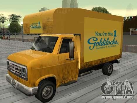 La nueva publicidad en los coches para GTA San Andreas twelth pantalla