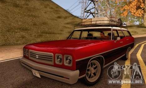 Dundreary Regina V1.0 para la visión correcta GTA San Andreas