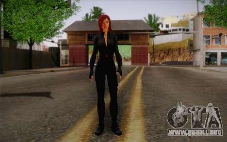 Scarlet Johansson из Vengadores para GTA San Andreas