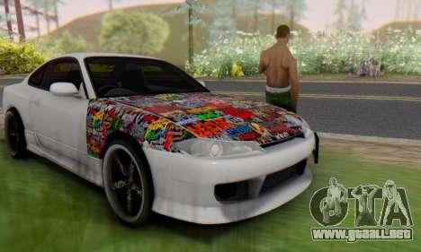 Nissan Silvia S15 Metal Style para GTA San Andreas