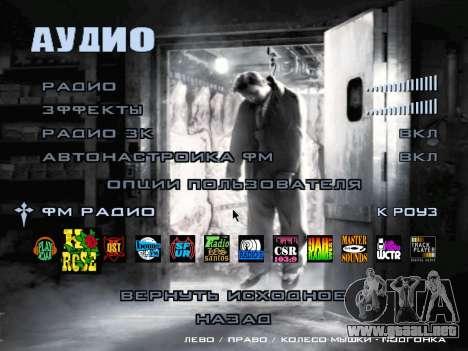 La pantalla de arranque de Mafia II para GTA San Andreas novena de pantalla