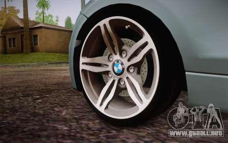 BMW 135i Limited Edition para GTA San Andreas vista posterior izquierda