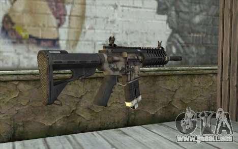 P416 из FarCry para GTA San Andreas segunda pantalla