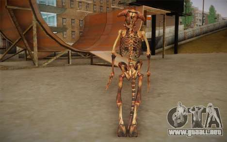 Kenny The Kleer from SS3 BFE para GTA San Andreas segunda pantalla