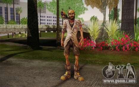 El profesor Nakayama, 2 из Borderlands para GTA San Andreas