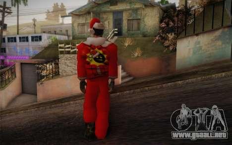 Santa Sam para GTA San Andreas segunda pantalla