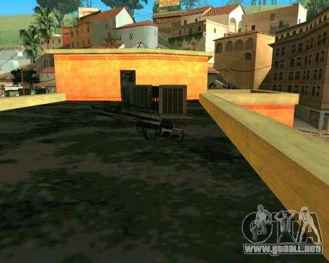 Jackhammer de Max Payne para GTA San Andreas segunda pantalla