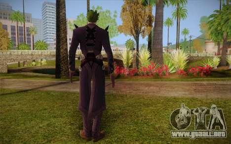 Joker from Injustice para GTA San Andreas segunda pantalla