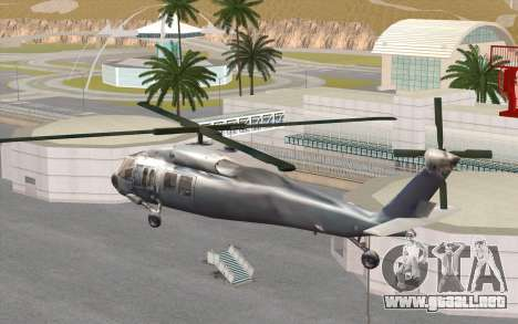 UH-60 Blackhawk para GTA San Andreas left