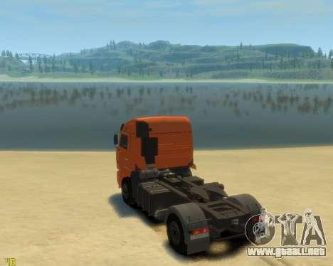 El KamAZ-5460 para GTA 4 left