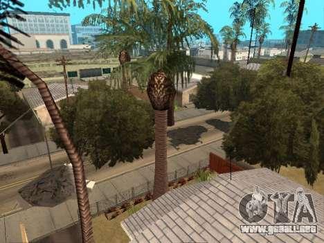 La selva en una calle Azteca para GTA San Andreas segunda pantalla