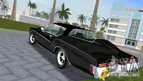 Buick Riviera 1972 Boattail para GTA Vice City left