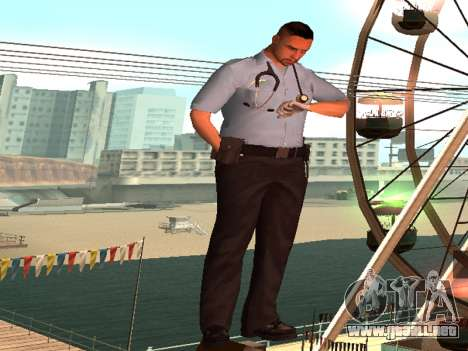 Pack Medic para GTA San Andreas quinta pantalla