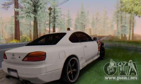 Nissan Silvia S15 Metal Style para GTA San Andreas left