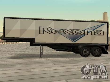 La nueva publicidad en los coches para GTA San Andreas quinta pantalla