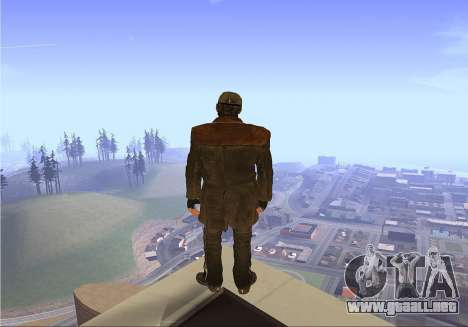 Aiden Pearce para GTA San Andreas segunda pantalla