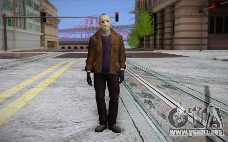 Jason Voorhees para GTA San Andreas