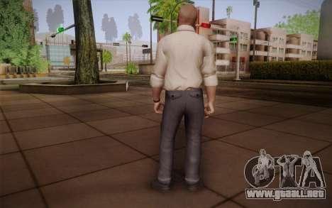 El Agente especial Jason Hudson из CoD: Black Op para GTA San Andreas segunda pantalla