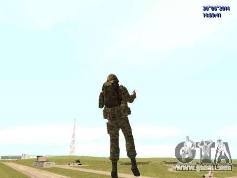 El combatiente del ejército ruso para GTA San Andreas quinta pantalla