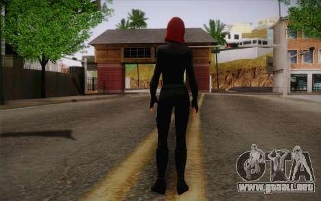 Scarlet Johansson из Vengadores para GTA San Andreas segunda pantalla